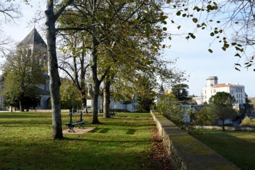 Bourdeilles parc chateau SCOT PV Photoc